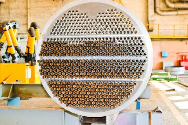 Shell and tube heat exchanger metals